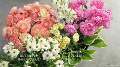 Centerpiece of Spring Blooms - Floral Ingredients