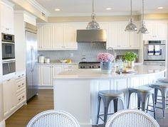 Kitchen remodel via Studio McGee Studio Kitchen, Kitchen Redo, New Kitchen, Kitchen Remodel, Kitchen Floor, Shaker Kitchen, Design Kitchen, Kitchen Backsplash, Kitchen Interior