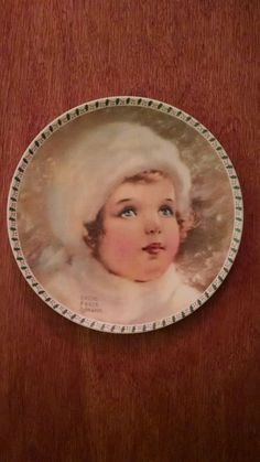 """""""The Snow Bird"""" collector plate by Bessie Pease Gutmann in Collectibles, Decorative Collectibles, Collector Plates   eBay"""