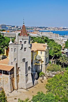 Condes de Castro Guimarães Museum with free entry in Cascais (all museums in Cascais are free) Places In Portugal, Spain And Portugal, Portugal Travel, Ericeira Portugal, Portuguese Culture, Famous Places, Tours, The Good Place, Travel Photography