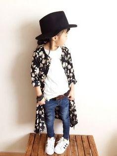 Kids fashion kimono