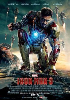 Tony Stark on Iron Man 3 poster