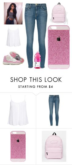 """#435"" by aneysajslexander ❤ liked on Polyvore featuring New Look, Frame Denim and Vans"