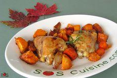 Un plat simple et délicieux qui embaume toute la maison: Une vraie trouvaille pour les dîners de semaine.