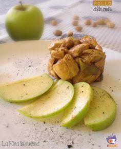 pollo fritto, farina, pollo alle mele, mele, aceto balsamico, secondo piatto, pistacchi, ricette facili, ricette veloci, pollo, sale, carne