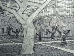 Contour Line Drawing Rose : Best cross contour line drawing images