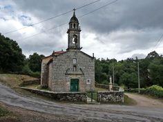 Lalin. Montoto. Igrexa de Nosa Señora dos Dolores. Pontevedra.