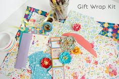 Artistry Gift Wrap What if I told you there was a shop that would send you a box full of fun new gift wrapping goodies each month? Wouldn't it make wrapping all those different gifts you give so much more fun? Well, let me introduce you to Artistr