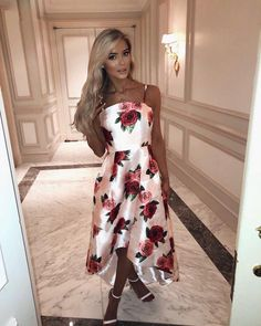 """a56f2307d6ae9 Ellie O'Donnell ♡ on Instagram: """"Wherever life plants you, bloom with grace  🌹 @chichiclothing #IAmChiChi"""". Simple DressesCheap Prom ..."""