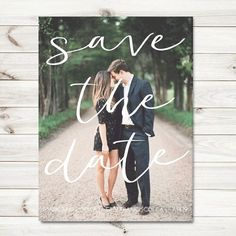 Photo Save the date cards fall save the date by sweetinvitationco