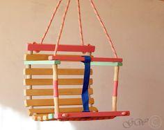 Wooden Handmade Swing Baby Swing Handmade Children by GreenWoodLT Kids Swing, Baby Swings, Thank You For Purchasing, Natural Wood, Kid Stuff, Beautiful Things, Kids Toys, Carnival, Children