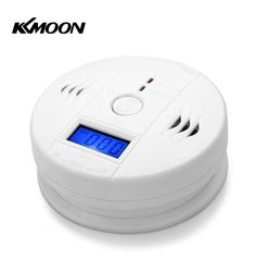 Intelligent LCD Display CO Carbon Monoxide Poisoning Sensor Detector Alarme Home Safety Gas Smoke Detector Warning Monitor