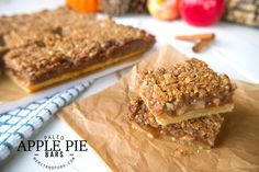 Take a twist on a classic and try this grain-free, modernized rendition of Not Yo Mama's Apple Pie! aka Paleo Apple Pie Bars!...