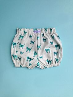 Teeny Tigers Cotton Bloomers by LittleMaggieMoo on Etsy