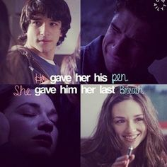 Scott and Allison, sad moment couldn't believe she was being killed off...