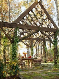 Check out these fresh outdoor deck, patio, and porch ideas.  http://www.bhg.com/home-improvement/porch/outdoor-rooms/outdoor-room-ideas1/?socsrc=bhgpin081314firesidefun&page=2#page=15