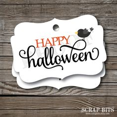 12 Happy Halloween Tags, Halloween Tags, Halloween Favor Tags by scrapbits on Etsy https://www.etsy.com/listing/466029138/12-happy-halloween-tags-halloween-tags