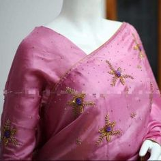 Work Sarees, Saree Blouse Designs