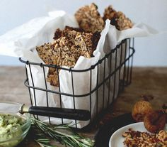 Almond butter + these crackers = best. snack. ever.  http://www.thecoveteur.com/new-roots-life-changing-crackers/