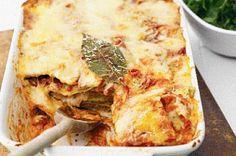 vegetarian recipe: vegetarian lasagne