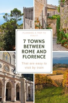 Planning your Italian holiday? Make sure to spend a few days between Rome and Florence exploring Umbria. Here are the best towns to visit by train in Umbria. Italy Travel Tips, Rome Travel, Travel Europe, Travel Destinations, Things To Do In Italy, Umbria Italy, Italy Holidays, Visit Italy, By Train