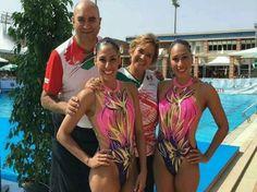Dueto mexicano de nado sincronizado, cuarto en torneo Infantas de España