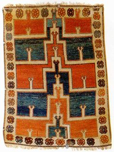 Karapinar Multi Niche Prayer Rug 17th century