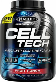 #Muscletech's CELL-TECH delivers a multi-stage combination of carbohydrates which helps shuttle #creatine into the #muscle and rapidly replenishes glycogen stores and deliver an intense #muscle-expanding effect.