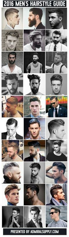Best Hairstyles for Women: Blog - 30 New Men's Hairstyles for 2016 (30 Styles...