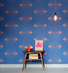 Quirk & Rescue&rsquos Wallpaper Optics - http://www.interiorzy.com/quirk-rescuersquos-wallpaper-optics.html