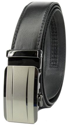 Mens Belt,SMTSMT Automatic Buckle Leather Formal Waist Belts