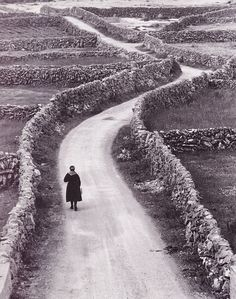 The Aran Islands, Irlanda. Foto di Bill Doyle, 1960