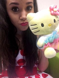 Megan Nicole's obession with Hello Kitty - cuteeee!