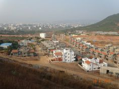 Progress of View of Villas from Hill Top on 4 January 2014  http://vizag.shriramproperties.com