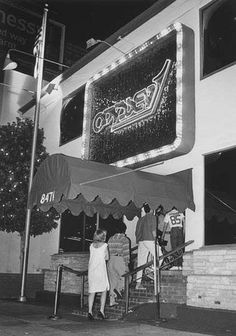 Odyssey Disco Beverly Blvd West Hollywood CA. One of the first places I played in L.A. in the early '70s.