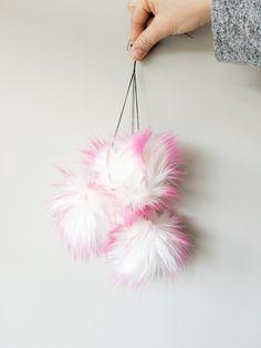 Bubblegum Faux Fur Pom Poms – Warehouse 2020 More Code, Faux Fur Pom Pom, Bubble Gum, Pom Poms, Bright Pink, Warehouse, Make It Yourself, Handmade, Color