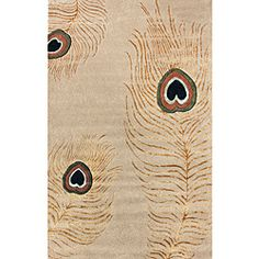 @Overstock - This hand made wool area rug uses subtle and modern colors to match today's interiors. The plush wool pile offers great comfort under foot.http://www.overstock.com/Home-Garden/Handmade-Alexa-Handspun-Peacock-Wool-Rug-5-x-8/6031001/product.html?CID=214117 $222.69