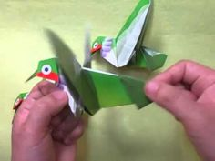 The Origami Flying Hummingbird