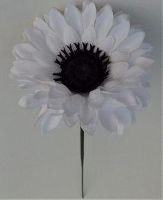Artificial Flower Chrysanthemum Single Stem White - Irish Plants Direct
