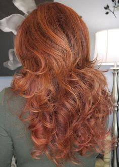 voluminous long layered hairstyle