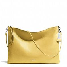 CUTE bag for spring! Coach  BLEECKER DAILY SHOULDER BAG IN LEATHER