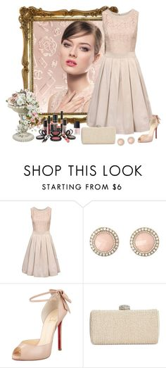 """My lovely dress."" by graciene-silva ❤ liked on Polyvore featuring Rouge Bunny Rouge, Charlotte Russe, Christian Louboutin, La Regale and NARS Cosmetics"