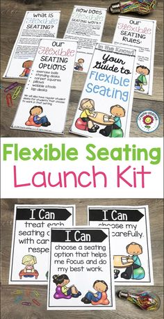 New Flexible Seating Kindergarten Rules Ideas Kindergarten Rules, Kindergarten Reading, Kindergarten Graduation, Classroom Posters, Classroom Seats, School Classroom, Classroom Organization, Classroom Management, Future Classroom