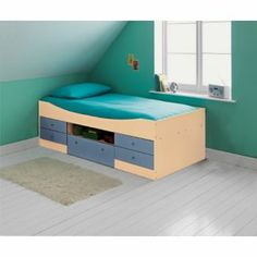 Buy Malibu Cabin Bed Frame - Blue at Argos.co.uk - Your Online Shop for Children's beds, Children's beds.
