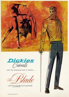 Dickies 1962 ad