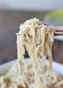 Brown Butter Parmesan Spaghetti - Dinner Eatery