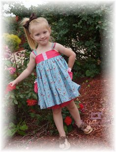 Strawberry Petals Tunic set avail sizes 3mo-8yrs.  to order: www.facebook.com/groups/mygiddyaunt