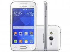 "Smartphone Samsung Galaxy Ace 4 Lite Duos 3G - Dual Chip Android. 4.4 Câm. 3MP Tela 4"" Wi-Fi"