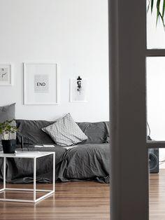 handmade cushion by Nina Kullberg | (my) unfinished home