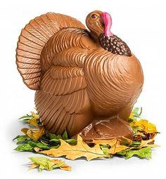 Bissinger's Chocolate Turkey Centerpiece